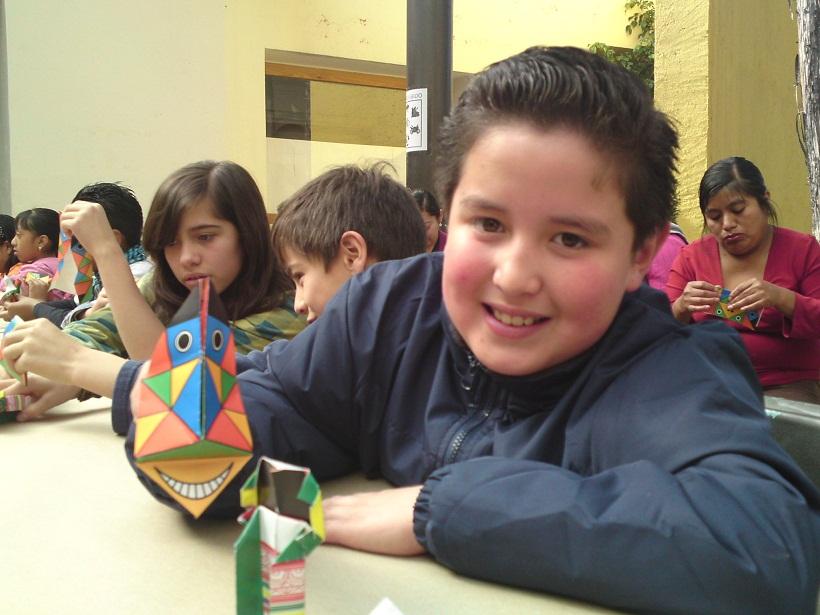 concaculta taller origami nino cochae