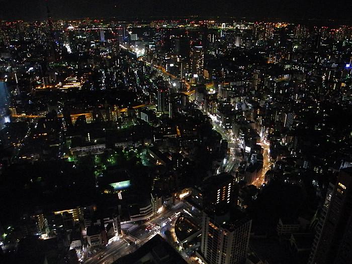東京シティビューからの眺め