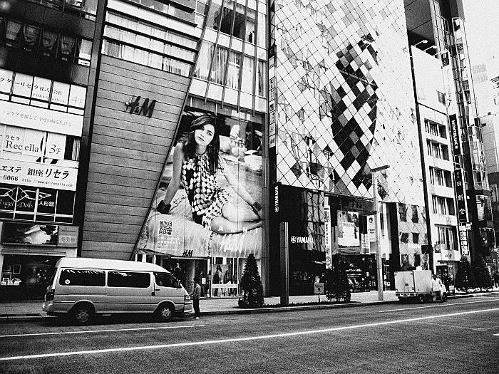 H&Mとヤマハビル