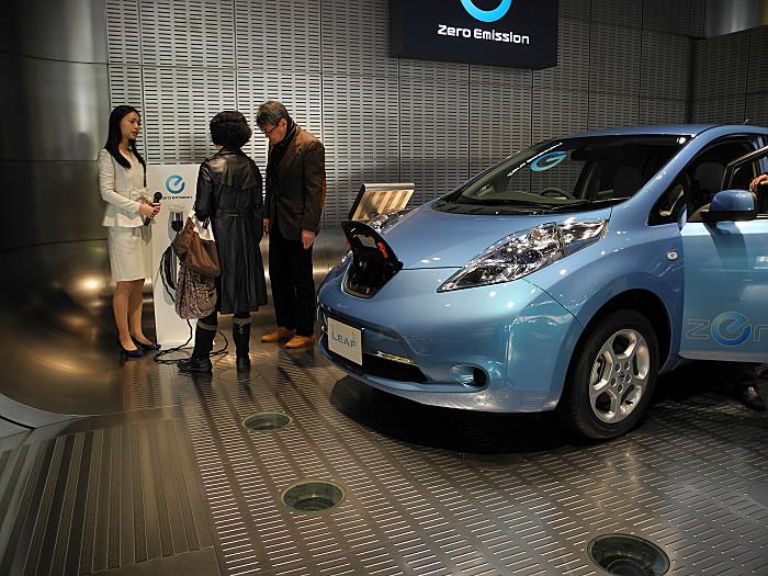 人気の電気自動車