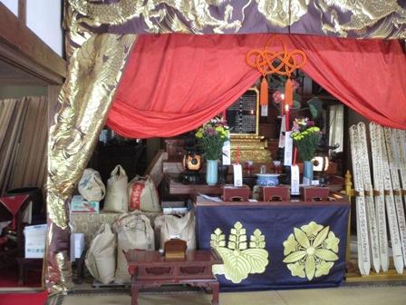 2014年9月22日 福泉寺本堂