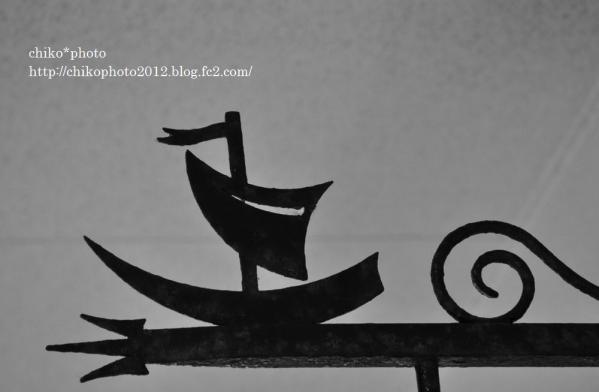 photo-81 モノクロsailboat