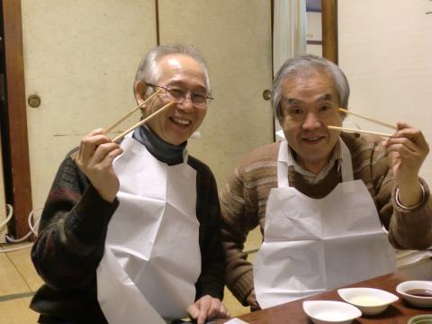 2011年忘年会&納会 おやかた&ぴんきー
