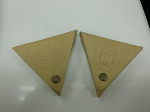 三角小銭入れ 浅草