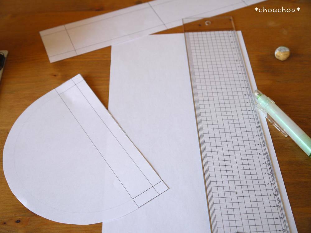 ポーチ 型紙