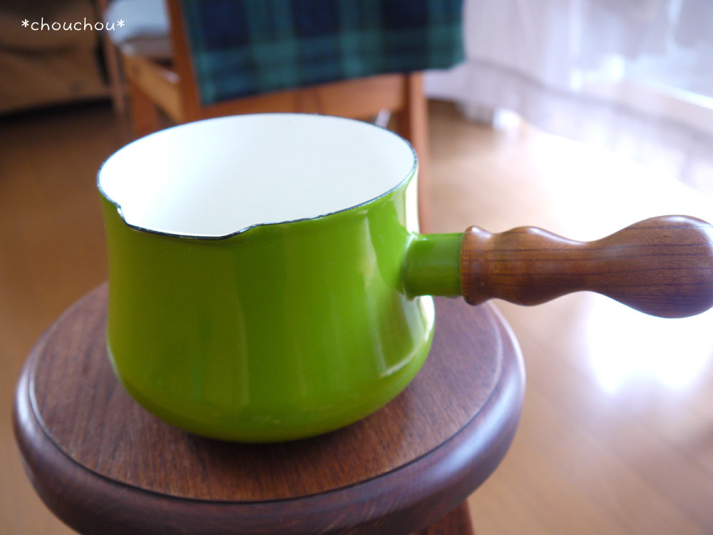 ミルクパン 緑