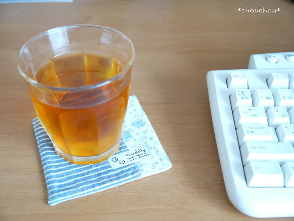 水出し紅茶 グラス