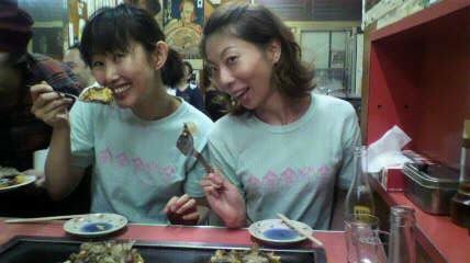 笑子と真里菜