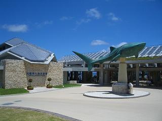 美ら海水族館  正面入口