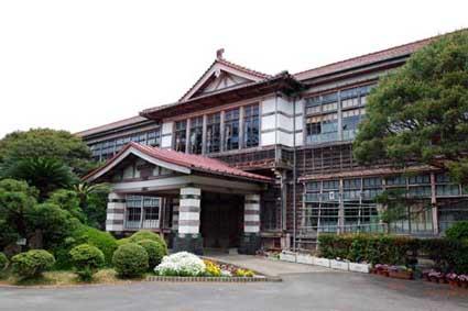 山口県萩市:明倫小学校