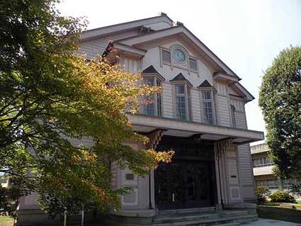 長野県上田市:上田蚕糸専門学校講堂