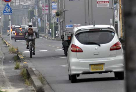 歩道自転車04