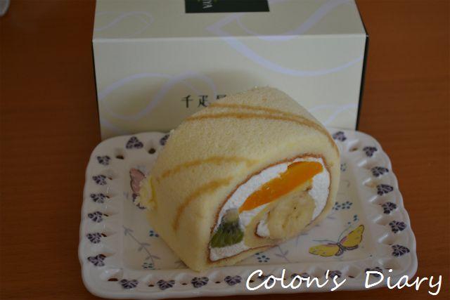 千疋屋のロールケーキ