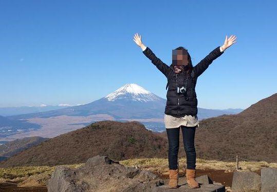 coocoと富士山