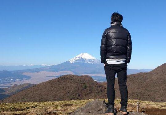 クゥパパと富士山