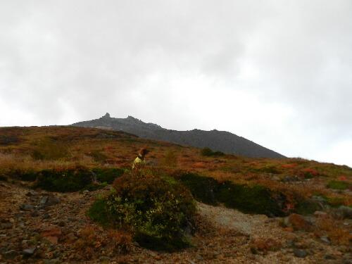 2012年10月7日 茶臼岳とコーク
