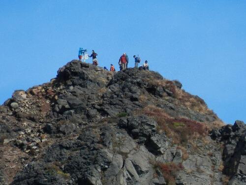 朝日岳山頂 12