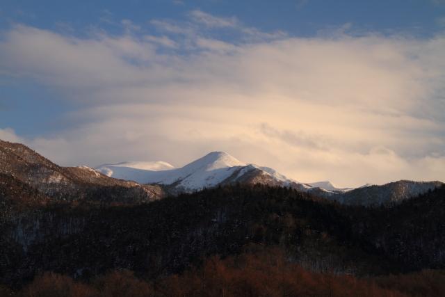 239ホテルから見えた山
