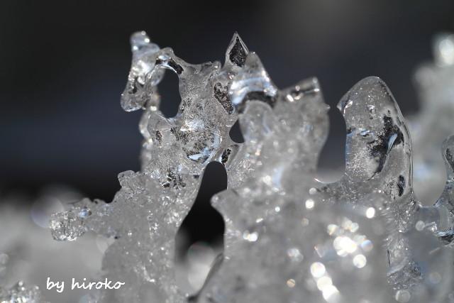 065氷の造形