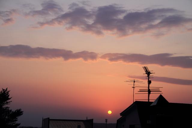 058沈みゆく太陽
