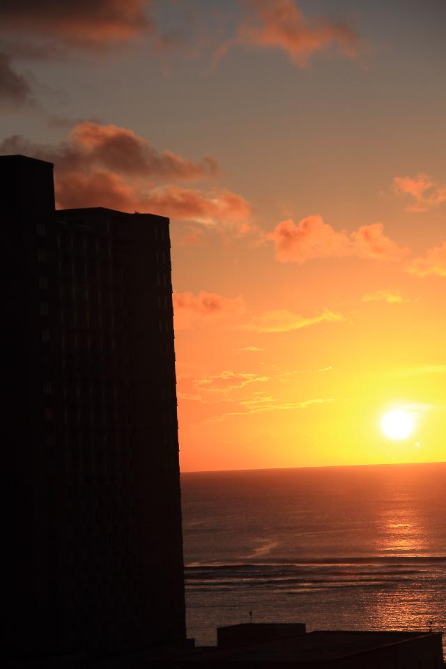 099日没の瞬間