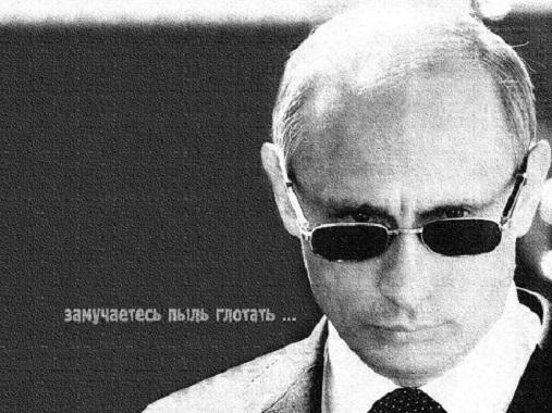 プーチン白黒