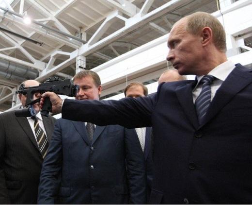プーチン銃