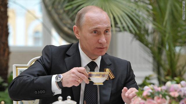 プーチンお茶
