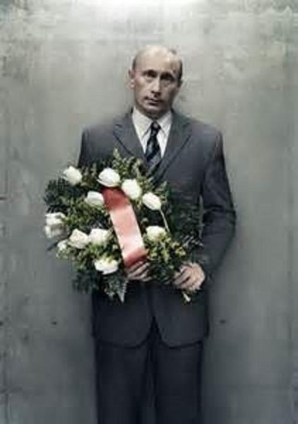 プーチン花束