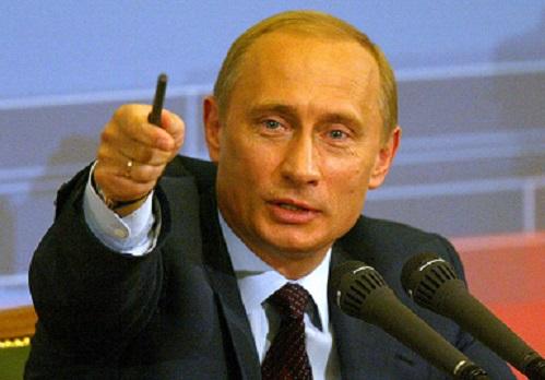 プーチン指す