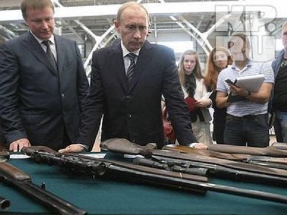 プーチン銃選び