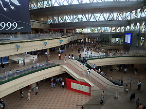 小倉競馬場。「MOZU」最終回の空港シーンの場所です