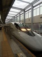 一駅の新幹線の旅…