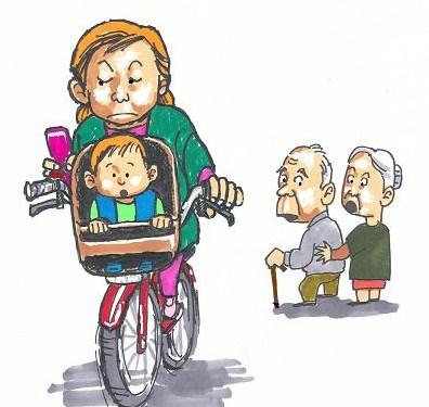自転車マナー①