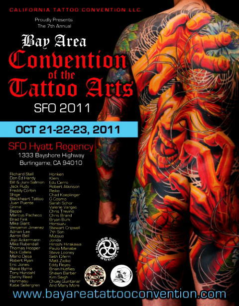 BAY AREA TATTOO CONVENTION 2011