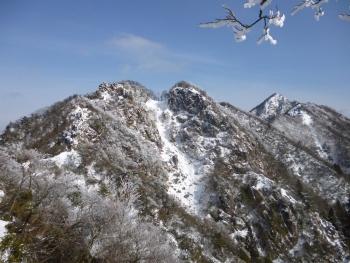 雪の鎌尾根 縦走(^^♪