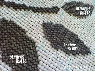 刺繍糸の違い 2011.9