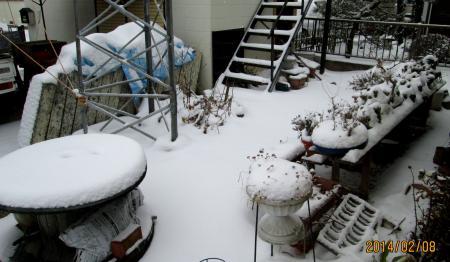 14年2月8日2積雪