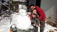 JJ14年2月9日雪ダルマと