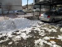 14年2月9日ニーニかいた雪