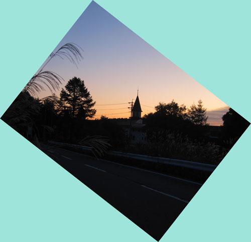 今朝の飯綱高原(長野市)