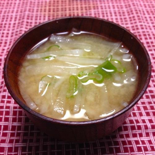 3大根の味噌汁