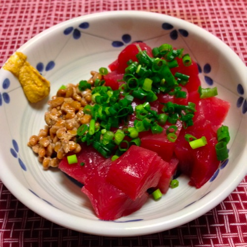 5マグロ納豆