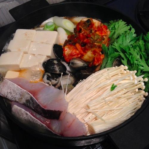 4キムチ鍋