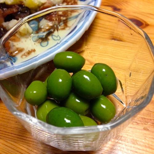 5季節限定小豆島のオリーブ