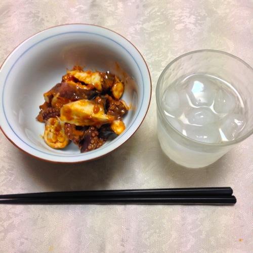 1酢味噌タコ