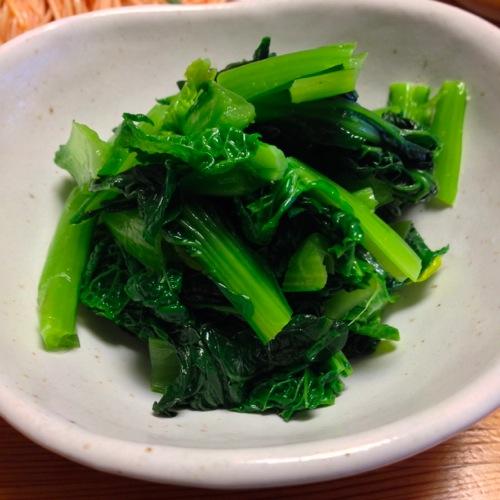 2雪菜のナムル