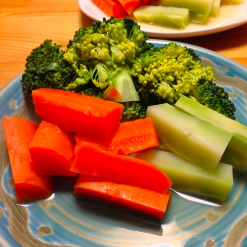1前菜温野菜