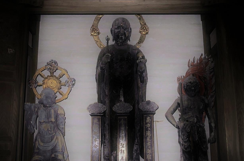 B1本堂内の地蔵菩薩像(1)