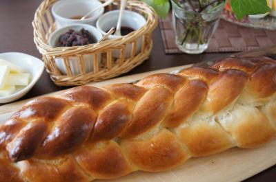 三つ編パン